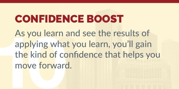 Considering EMBA - Reason 10 - Confidence Boost