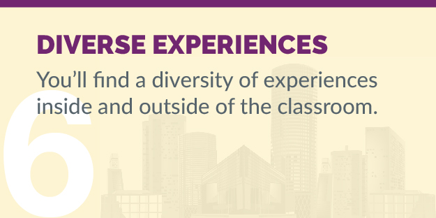 Considering EMBA - Reason 6 - Diverse Experiences